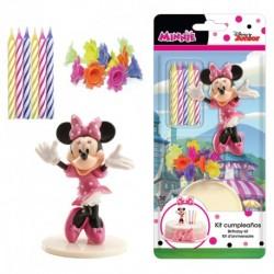 Kit Decoração Minnie com Velas