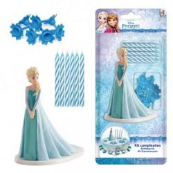 Kit Decoração Frozen com Velas
