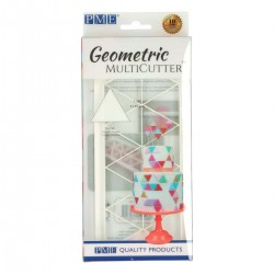 Cortante Plástico Geometrico Triângulos Md PME