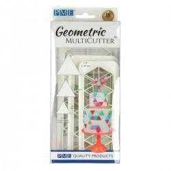 Cortante Plástico Geometrico Triângulos Cj.3 PME
