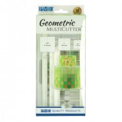Cortante Plástico Geometrico Quadrado Cj.3 PME