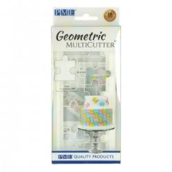 Cortante Plástico Geometrico Puzzle Md PME