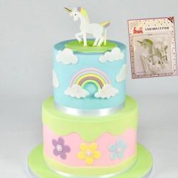 Cortante Plástico Unicornio