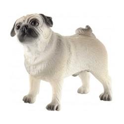 Cão Pug Percy 6cm