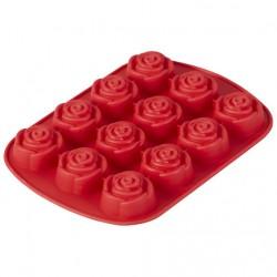 Forma Silicone Rosas