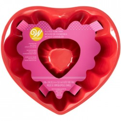 Forma Antiaderente Coração