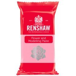 Pasta de Modelagem/Flores Rosa 250g Renshaw