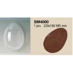 Molde Plástico Ovo da Pascoa 22cm