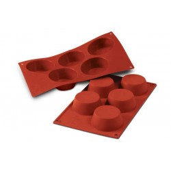 Molde Silicone Muffins Grandes Silikomart