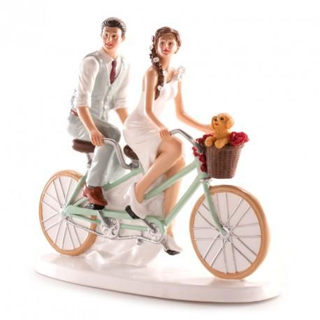 Noivos Casamento Bicicleta