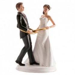 Noivos Casamento 20cm