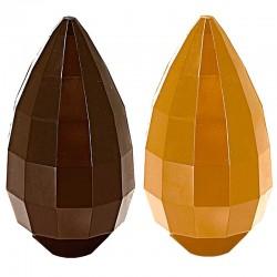 Molde Policarbonato Ovo Chocolate Pascoa 14cm