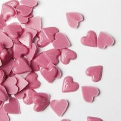 Corações Rosa de Chocolate 100g