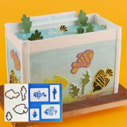 Cortantes e Stencils Peixes