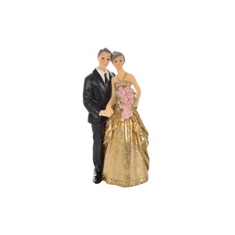 Noivos Boda de Ouro 12,5cm