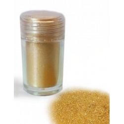 Corante em Pó com Brilho Dourado Glitter 10ml