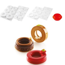 Molde Silicone The Ring 65 Silikomart