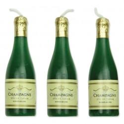 Velas Champagne Cj.6 Pme