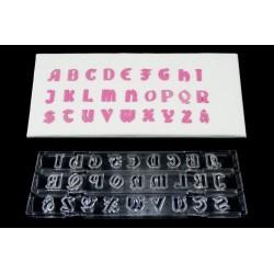 Cortante Ejector Letras Maiúsculas Gothic