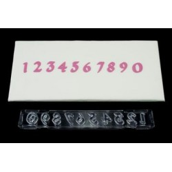 Cortante Ejector Números Gothic