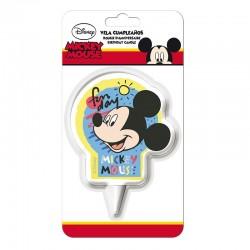 Vela Mickey 7cm
