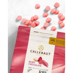 Chocolate Ruby Callebaut 500g