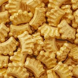 Sprinkles Coroas Douradas 56g Wilton
