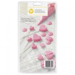Molde Plástico Lollipop Corações