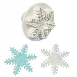 Cortante Floco de Neve 6,5cm Pme