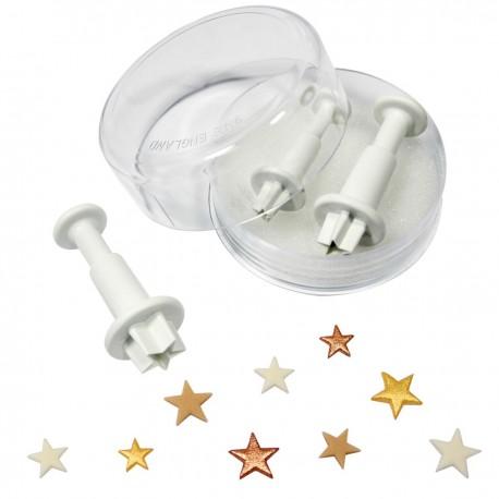 Cortantes Estrelas Mini Cj.3 PME