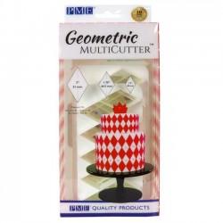 Cortantes Geometrico Losango Cj.3