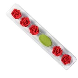 Rosas e Folhas Comestíveis Pme