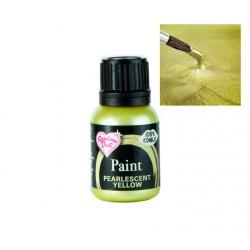 Corante Liquido Metallic Pearlescent Amarelo 25ml