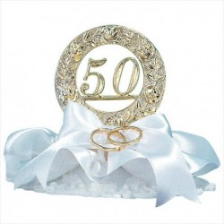 Boda 50 anos com aliança 10cm
