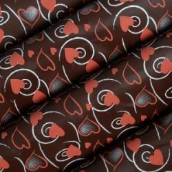 Transfer para Chocolate Corações