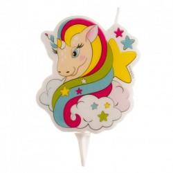 Vela Unicornio 7,5cm