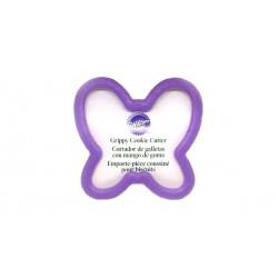 Cortante Borboleta Grippy 8cm Wilton