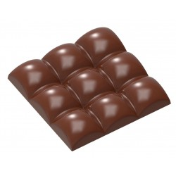 Molde Policarbonato Tablete Chocolate Square Sphere