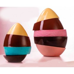 Molde Plástico Ovo de Chocolate