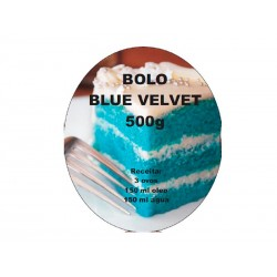 Preparado Bolo Blue Velvet 500g
