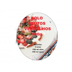 Preparado Bolo Frutos Vermelhos 500g