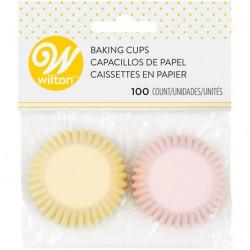 Petifures Sortido de Cores Pastel Mini Wilton - Forminhas de Papel