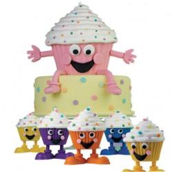 Petifures Silicone com Pés Cj.4 - Forminhas Cupcakes