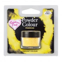 Corante em Pó Primrose Rainbow Dust - Amarelo palido