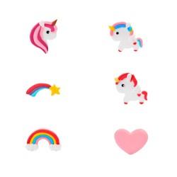 Decorações de Açúcar Unicornio