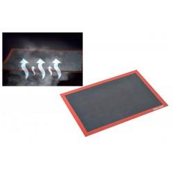 Tapete Silicone / Fibra de Vidro Perfurado