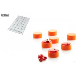 Molde Silicone Micro Round5 Silikomart