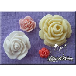 Molde Flor Rosas