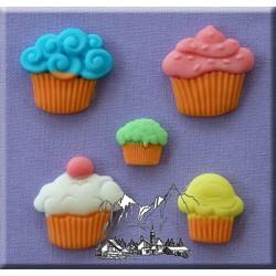Molde Silicone Cupcakes
