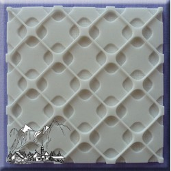 Molde Silicone Painel Design Moderno